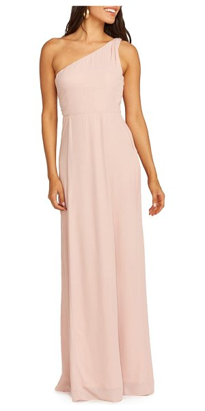 Show Me Your Mumu eliza one-shoulder gown in pink