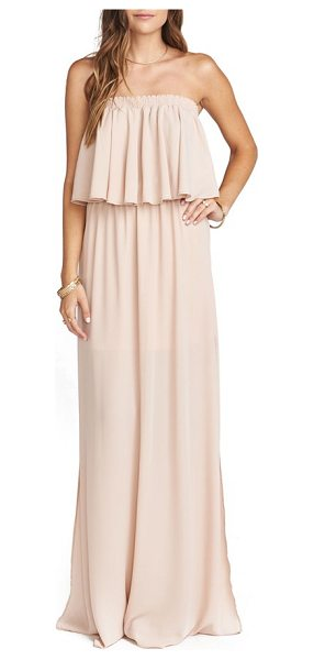 Show Me Your Mumu hacienda convertible gown in pink - Perfect for summer weddings and soirees, this flirty,...