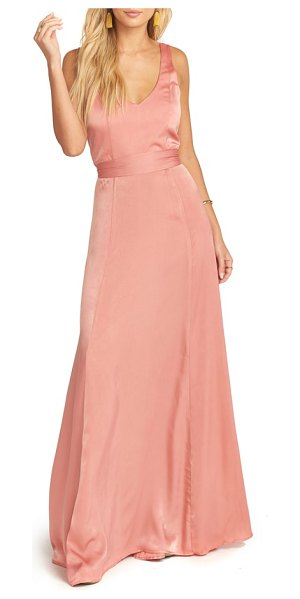 Show Me Your Mumu jen maxi gown in pink - Classically feminine and undeniably flattering, this...