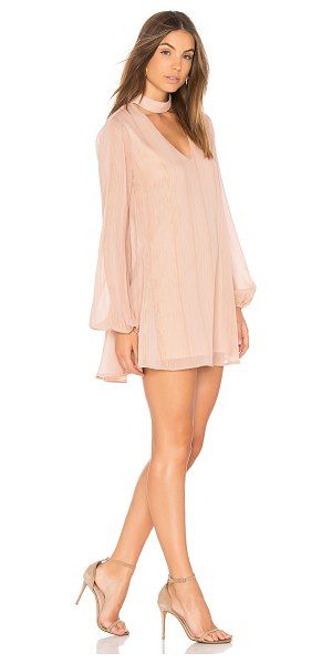 Show Me Your Mumu Josephine Bell Dress in pink - Poly blend. Dry clean only. Fully lined. Neckline...