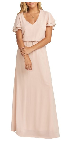 Show Me Your Mumu michelle maxi dress in pink