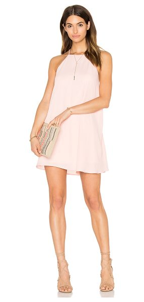 Show Me Your Mumu x REVOLVE Gomez Dress in pink - Poly blend. Hand wash cold. Fully lined. Back keyhole...
