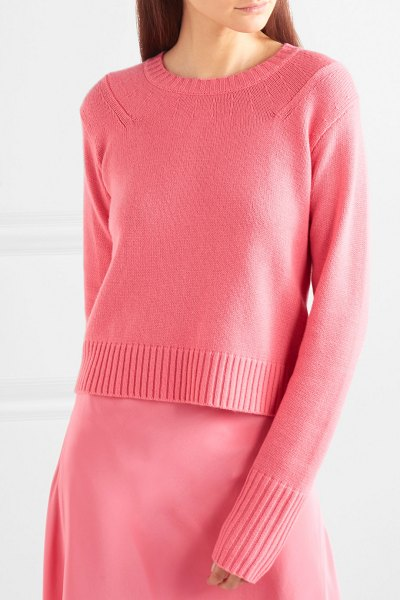 Sies Marjan wool and cashmere-blend sweater in pink - EXCLUSIVE AT NET-A-PORTER.COM. Sies Marjan founder...