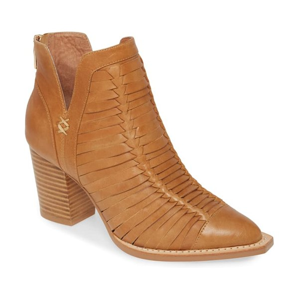 silent D leanah bootie in brown