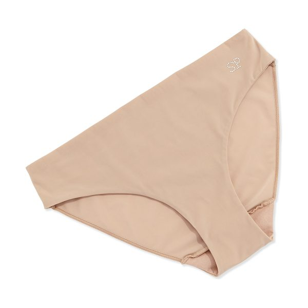 Simone Perele Inspiration Basic Bikini Briefs in nude - Simone Perele Lotion Touch microfiber bikini briefs. Low...