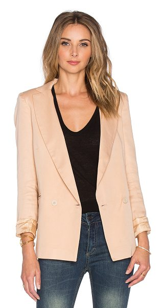SINCERELY JULES Riley blazer - 100% tencel. Dry clean recommended. Front double...