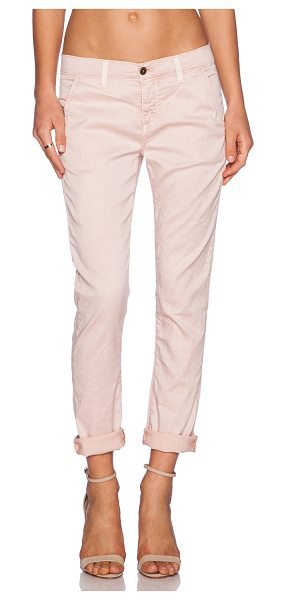 "Siwy Fionna pant in pink - 98% cotton 2% elastane. 15"""" in the knee narrows to 12""""..."
