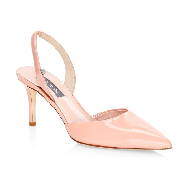 SJP by Sarah Jessica Parker bliss patent leather slingbacks in pink