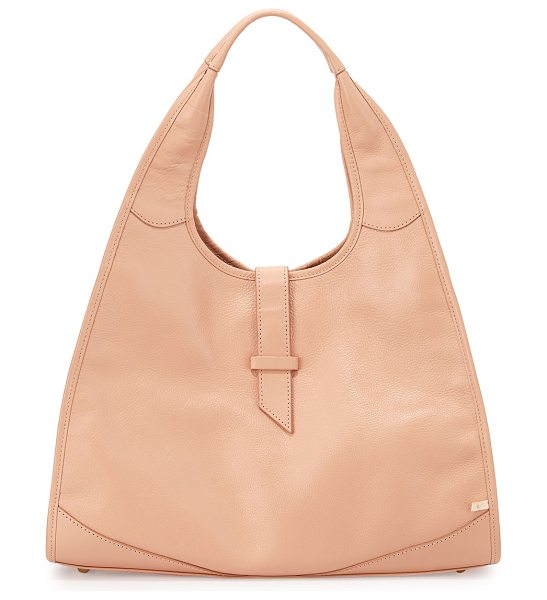 SJP by Sarah Jessica Parker New yorker hobo bag in pink bisque - SJP by Sarah Jessica Parker leather hobo bag. Dipped...