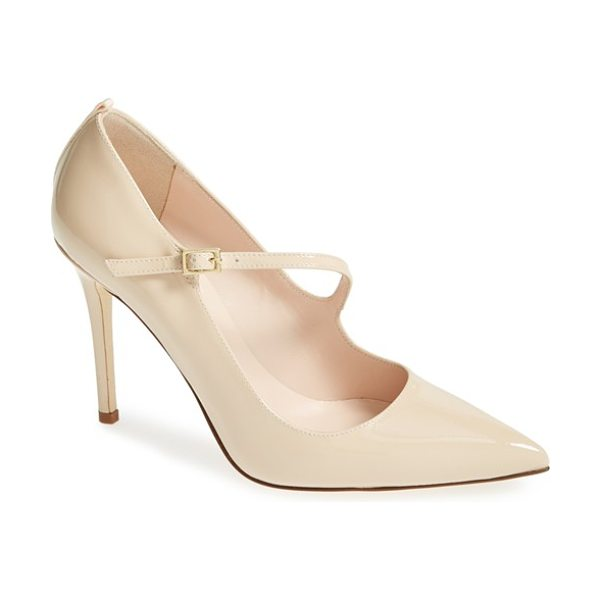 SJP by Sarah Jessica Parker diana pump in nude patent - A super flattering, simple shoe that is suitable for any...