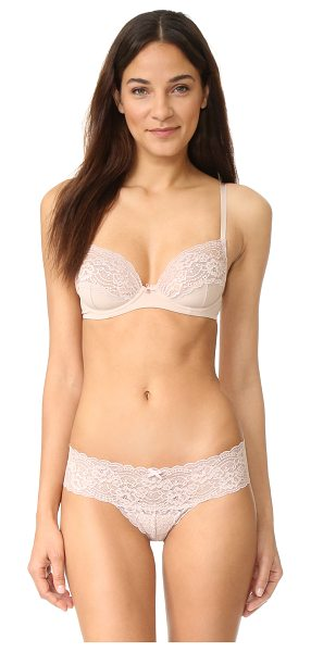 SKARLETT BLUE obsessed unlined underwire bra - Elegant floral lace details the cups on this underwire...
