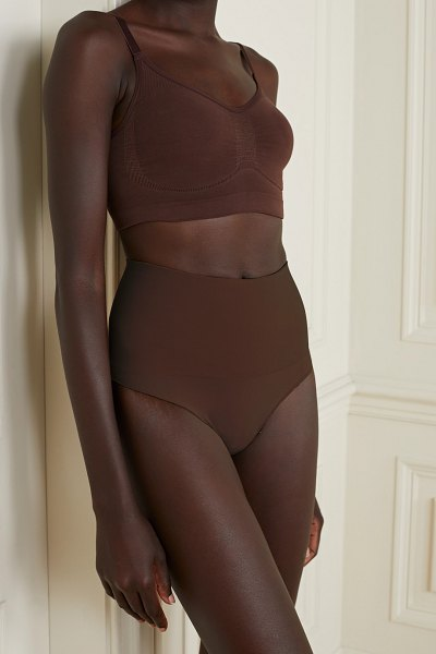SKIMS core control thong - cocoa in neutral