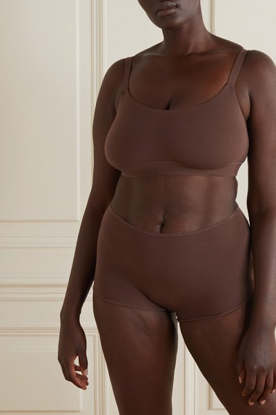 SKIMS fits everybody boy shorts - cocoa in neutral