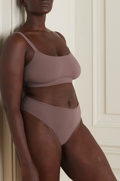 SKIMS fits everybody cheeky briefs - umber in neutral