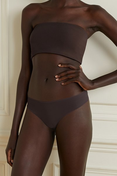 SKIMS fits everybody thong - cocoa in chocolate