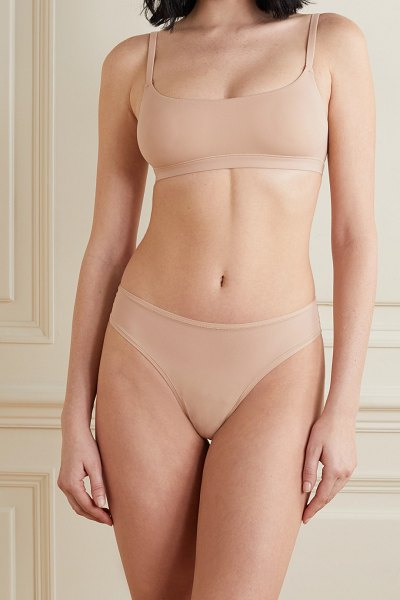 SKIMS fits everybody thong - mica in beige