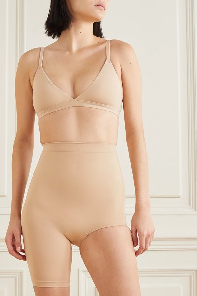 SKIMS seamless sculpt the solution 1 shorts - clay in beige