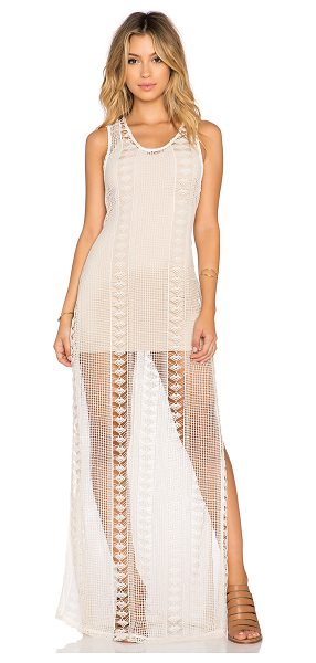 Sky Nizar maxi dress in beige