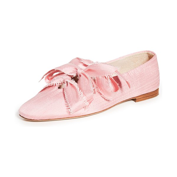 Sleeper mille flats in rose pink