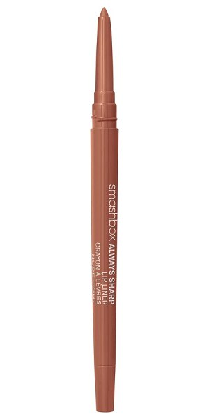"Smashbox always sharp lip liner in nude light - """"When I'm photographing a model with a bold lip color,..."