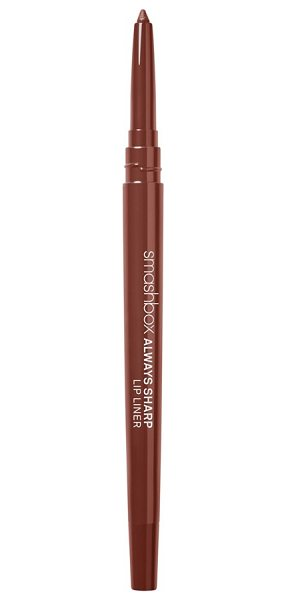 "Smashbox always sharp lip liner in nude medium - """"When I'm photographing a model with a bold lip color,..."