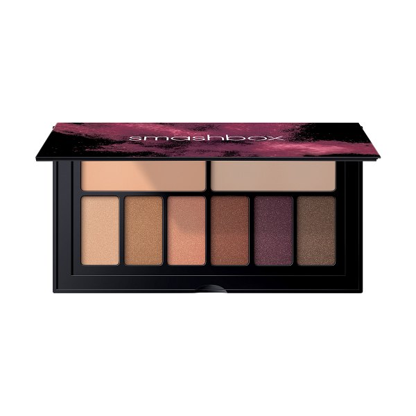 Smashbox cover shot eyeshadow palette in golden hour - What it is: A travel-size palette featuring six...