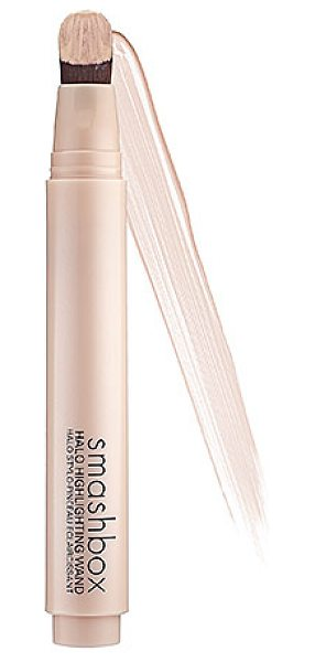 SMASHBOX halo highlighting wand gold - A precise click-through pen that delivers a pop of dewy,...
