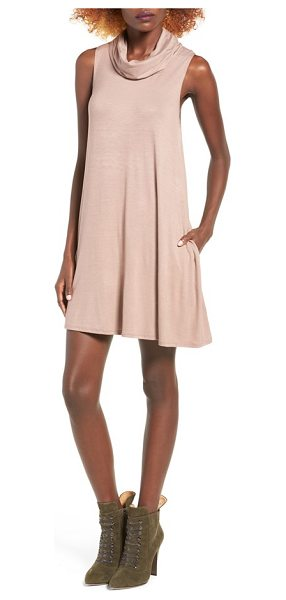SOCIALITE cowl neck shift dress - Your search for the perfect casual dress that...