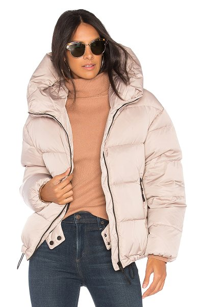 Soia & Kyo Brittany Puffer Jacket in beige - Self: 100% polyLining: 100% nylonFilling: 90% down 10%...