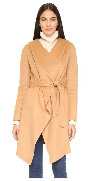 Soia & Kyo Samia coat in camel - A soft Soia & Kyo trench coat, updated with a slouchy...