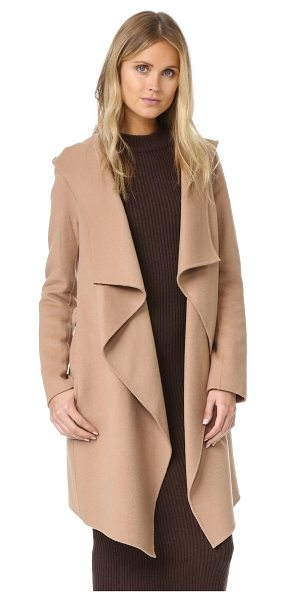 SOIA & KYO samia coat - A plush felt Soia & Kyo jacket in an effortless, draped...