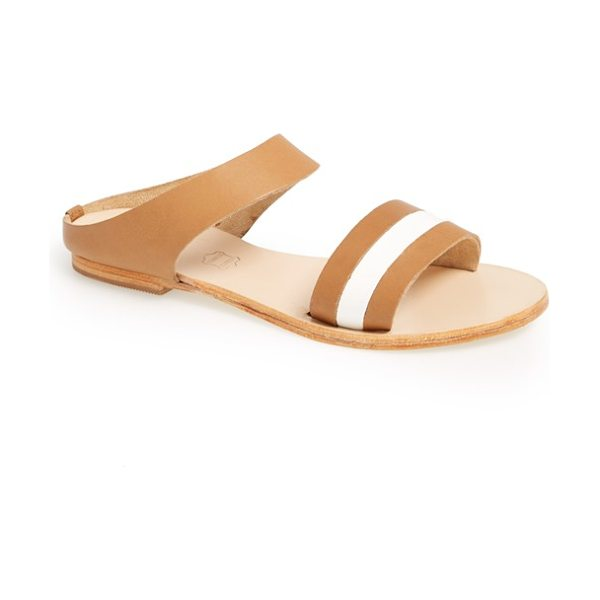 Sol Sana bertie slide sandal in tan