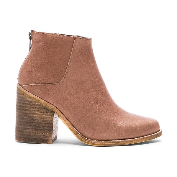 SOL SANA Leo boot - Leather upper with man made sole. Back zip closure. Heel...