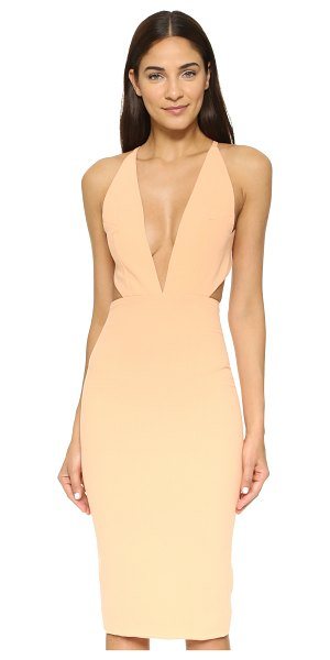 SOLACE LONDON Helvin dress - A contoured Solace London dress, styled with a flirty...