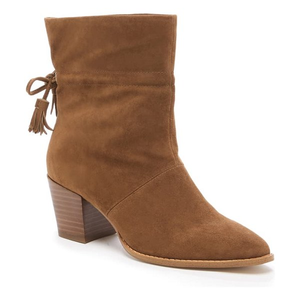 Sole Society adela bootie in brown