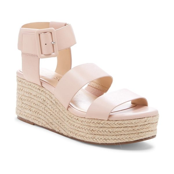 Sole Society anisa espadrille wedge sandal in pink