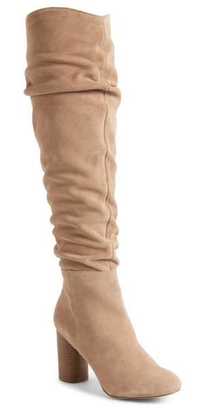 SOLE SOCIETY bali slouchy over the knee boot - A slouchy shaft adds effortless style to this...