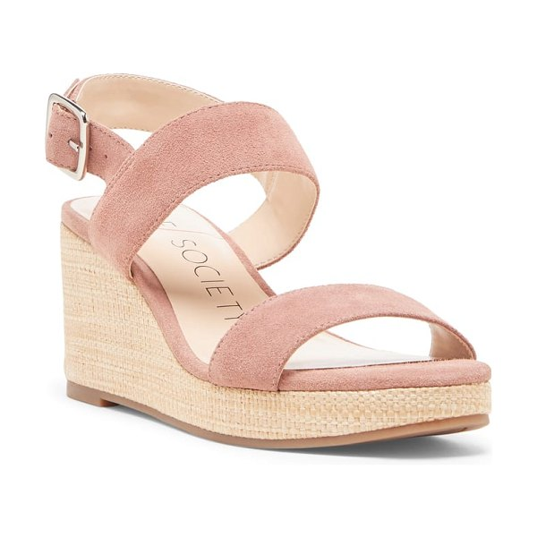 Sole Society cimme wedge sandal in pink