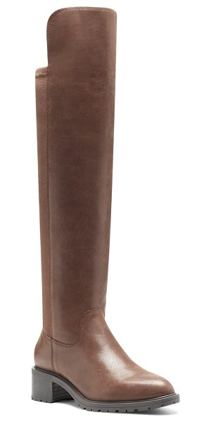 Sole Society favian knee high boot in brown