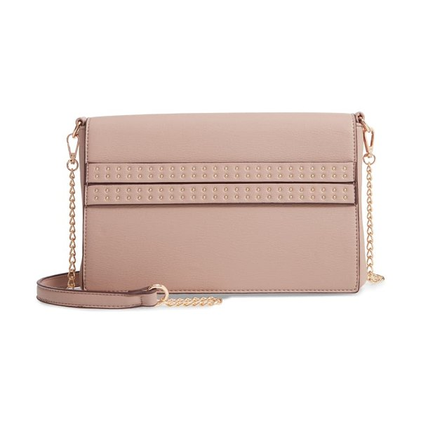 Sole Society jenn faux leather clutch in pink