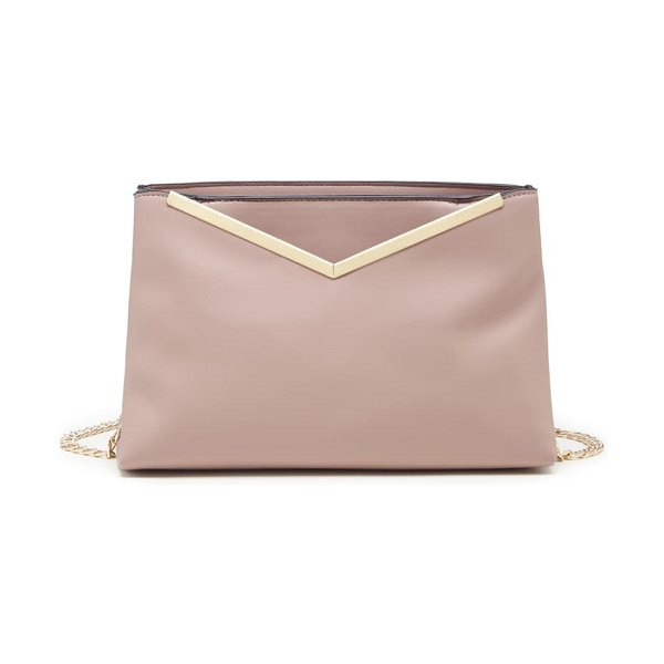 Sole Society jhill faux leather crossbody bag in pink