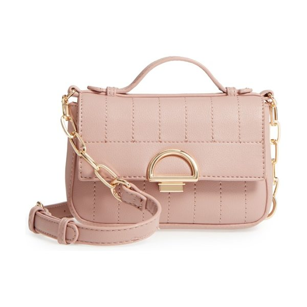 Sole Society kelsee crossbody bag in mauve