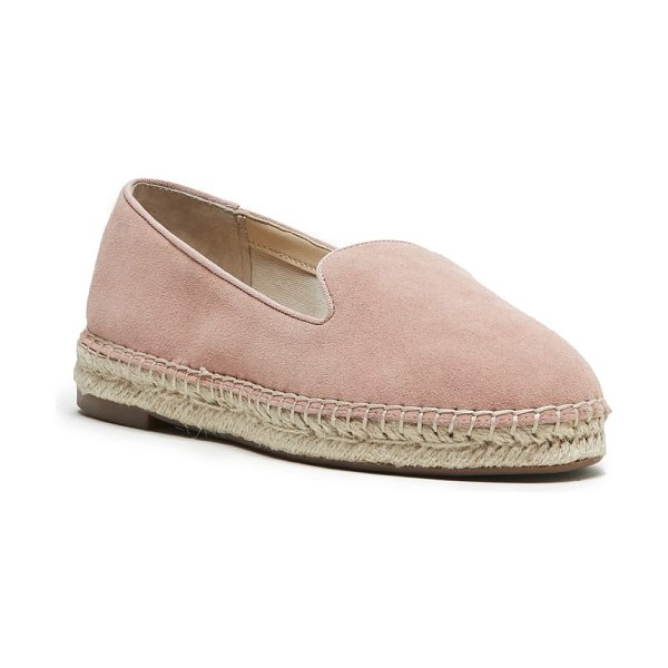 Sole Society sammah espadrille loafer in pink - The classic espadrille gets an upgrade for the season...