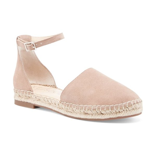 Sole Society saylah ankle strap flat in beige