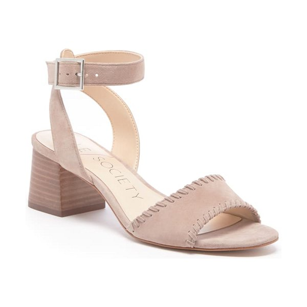Sole Society sylie ankle strap sandal in beige