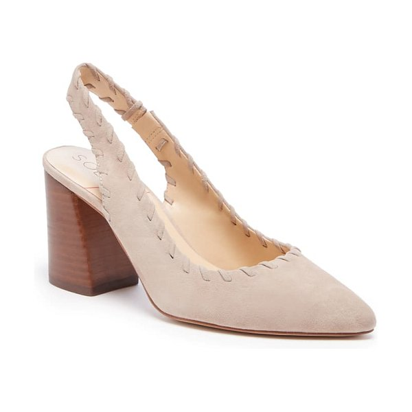Sole Society terema pointed toe pump in beige