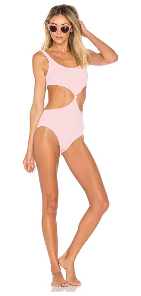 SOLID & STRIPED The Bailey One Piece - Polyamide blend. Hand wash cold. Stretch fit. Waist...