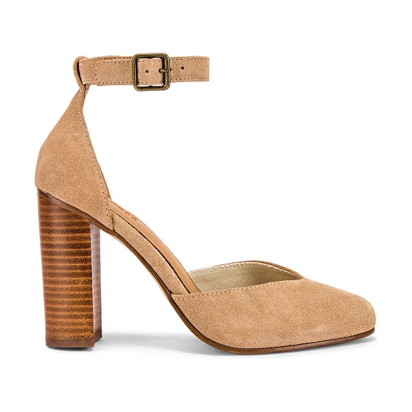 Soludos collette heel in blush