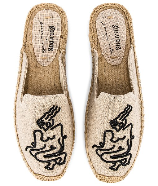 Soludos femme mule in sand