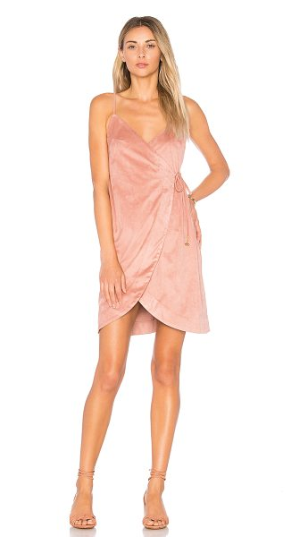 Somedays Lovin Dance at Dusk Wrap Dress in pink